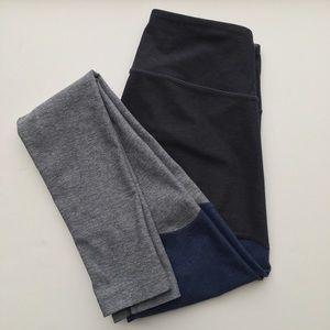 Outdoor Voices Colorblock Leggings Size XS